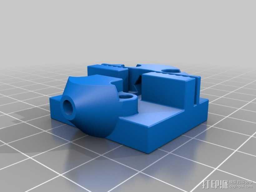 迷你赛车摆件  3D打印模型渲染图