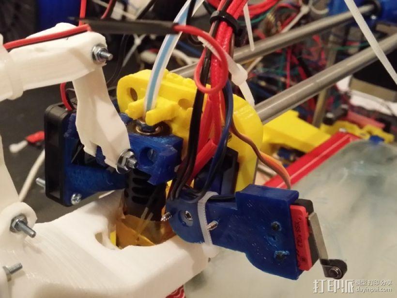 风扇替代 3D打印模型渲染图