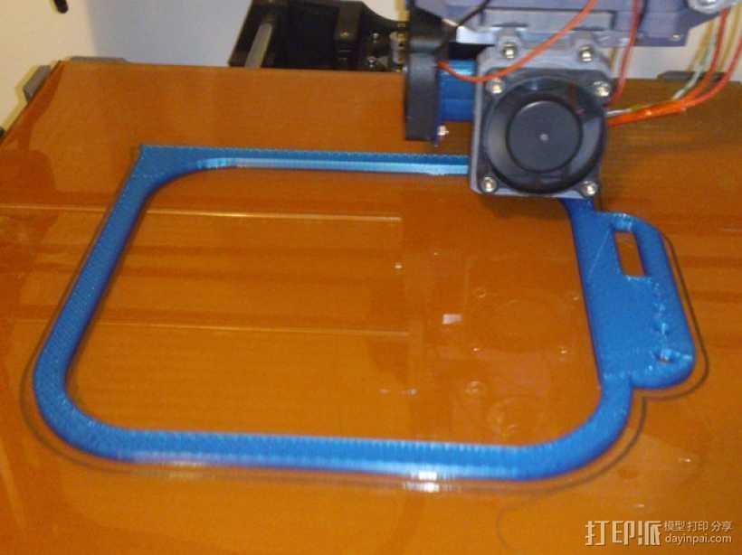 挂载架 3D打印模型渲染图