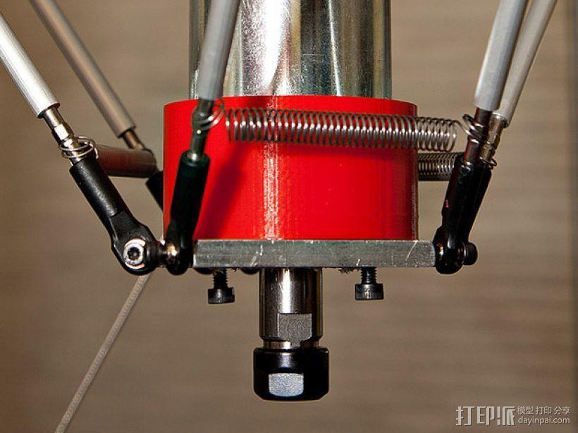 CNC适配器 3D打印模型渲染图