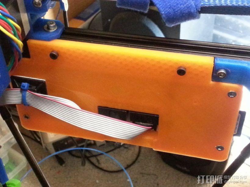 适配器外壳 3D打印模型渲染图
