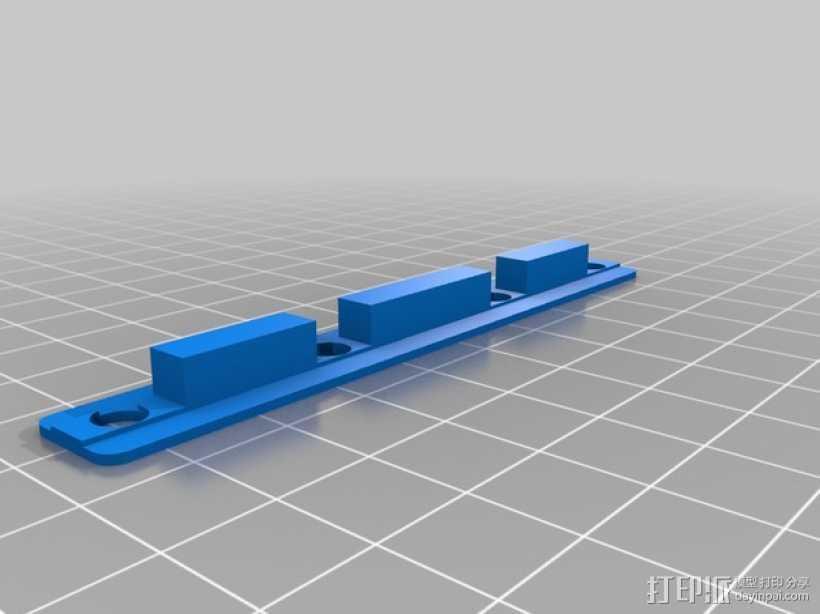 K8200螺丝适配器 3D打印模型渲染图