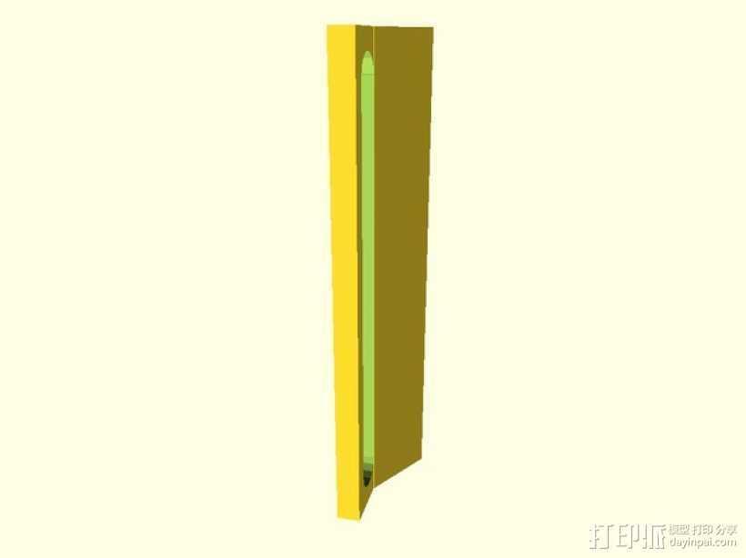 Prusa i3导线器 3D打印模型渲染图