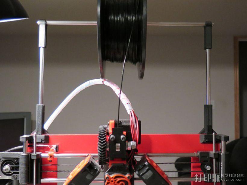 Prusa i3线轴架 3D打印模型渲染图