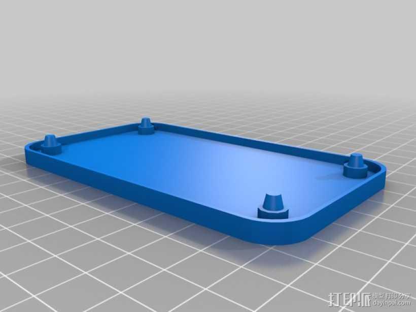 迷你托盘 3D打印模型渲染图
