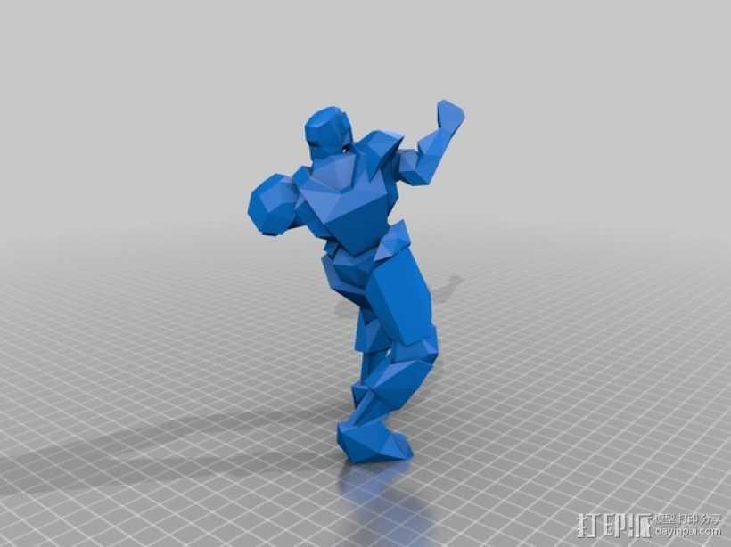 竞技场雕刻摆件 3D打印模型渲染图