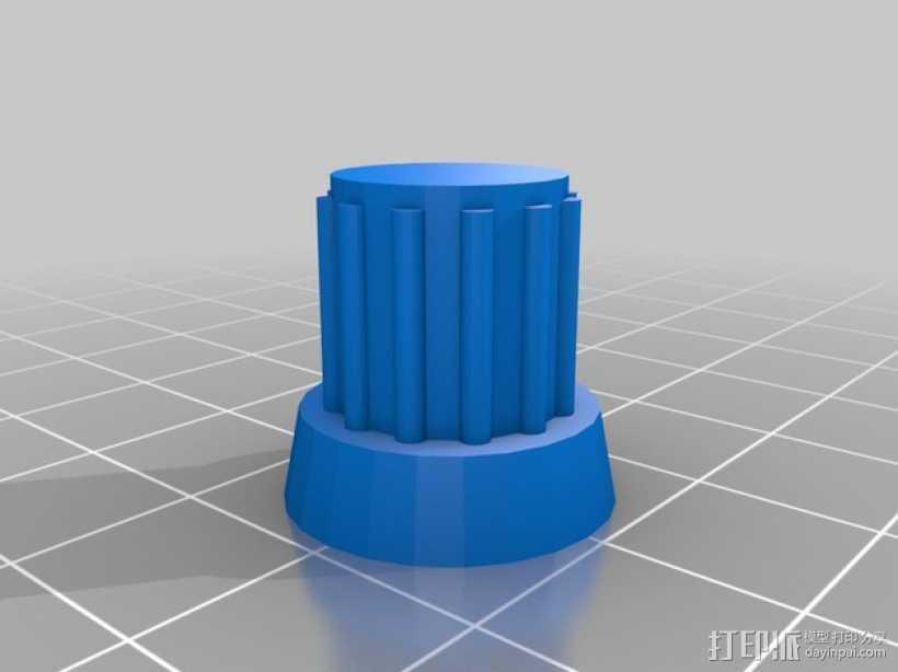 智能控制器 3D打印模型渲染图