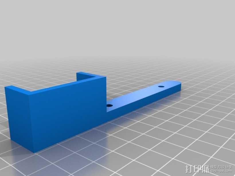 Prusa I3调平器 3D打印模型渲染图