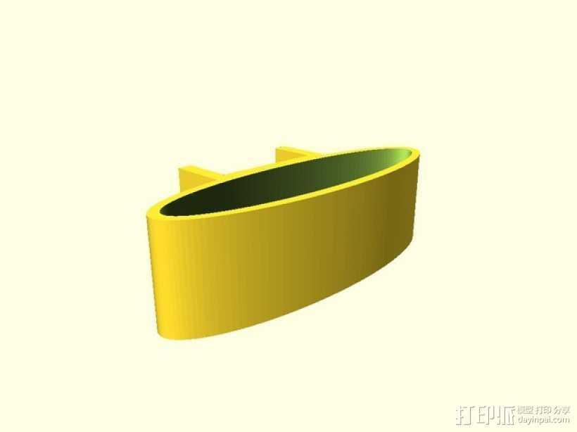 缓冲器 3D打印模型渲染图