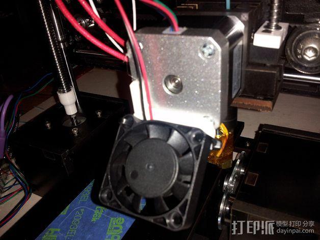 风扇托 3D打印模型渲染图