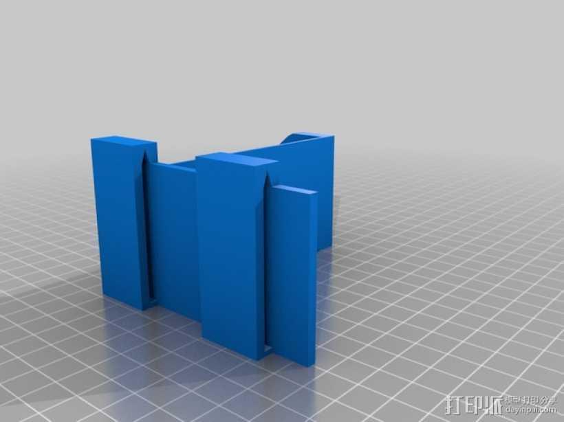 线轴固定器 3D打印模型渲染图
