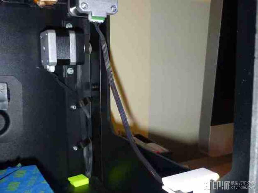 电缆固定器 3D打印模型渲染图