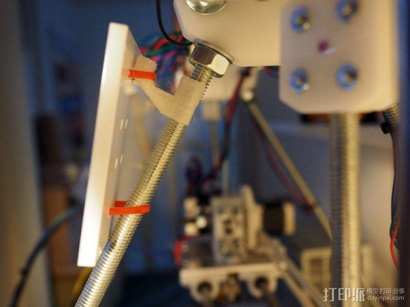 显示屏支架 3D打印模型渲染图