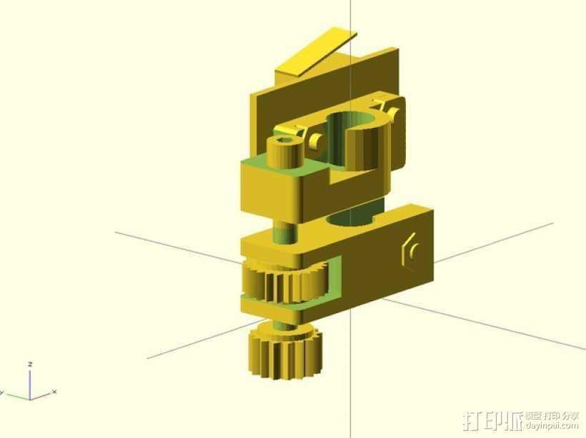 限位开关调谐器 3D打印模型渲染图