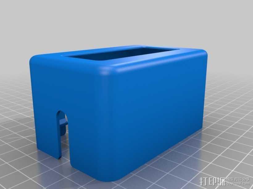 3Drag/K8200 打印机的控制器外罩 3D打印模型渲染图