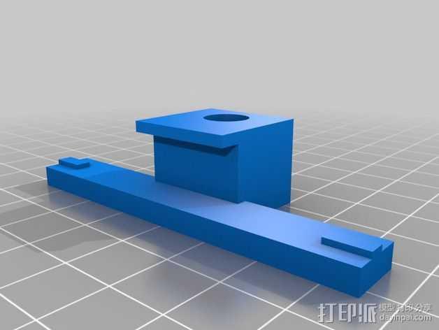 Flashforge打印机的仪表盘支架 3D打印模型渲染图