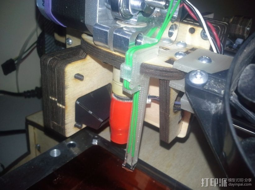 自动调平器探针 3D打印模型渲染图