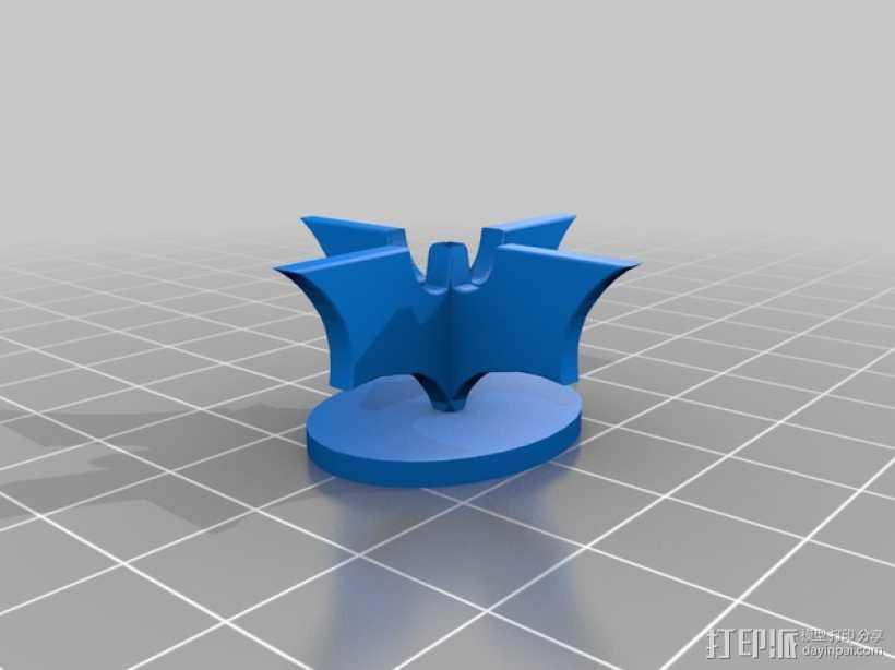 蝙蝠侠象棋 棋子 3D打印模型渲染图