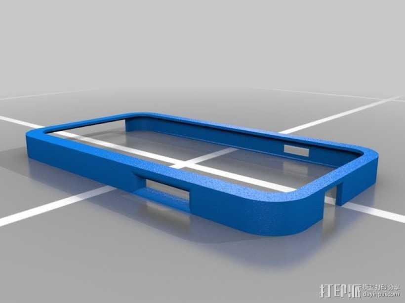三星Galaxy S3 手机外壳 3D打印模型渲染图