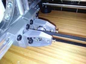 X轴的惰轮支架