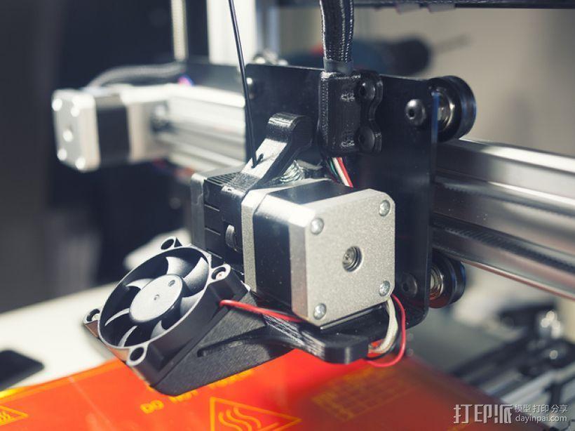 50毫米的风扇通风导管 3D打印模型渲染图