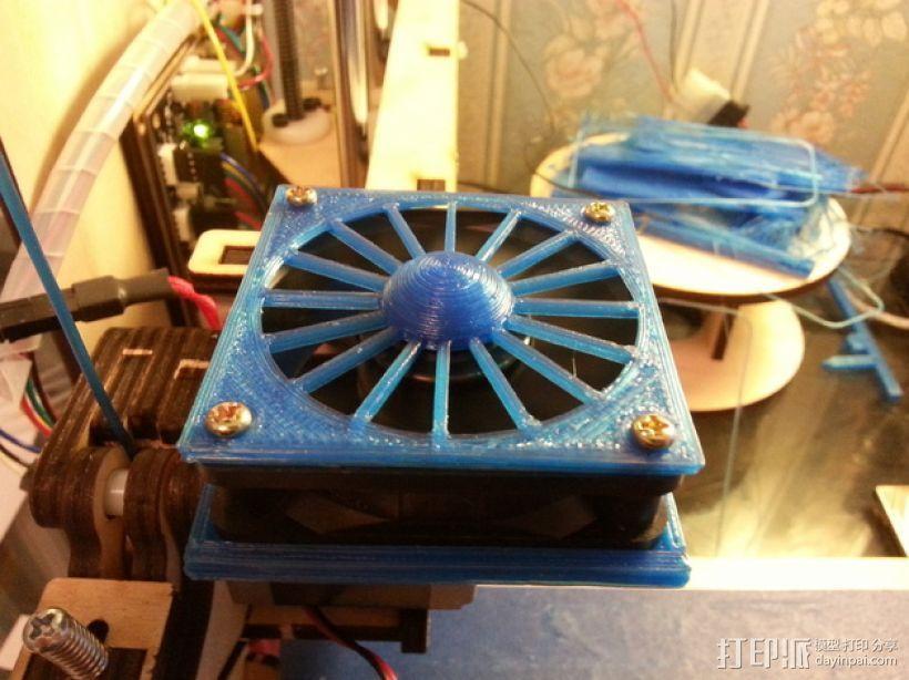 60毫米的风扇罩 3D打印模型渲染图