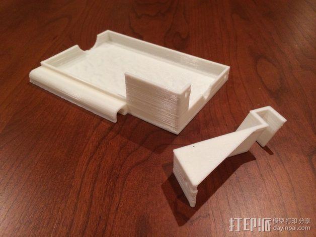 电源支撑框 支撑器 3D打印模型渲染图
