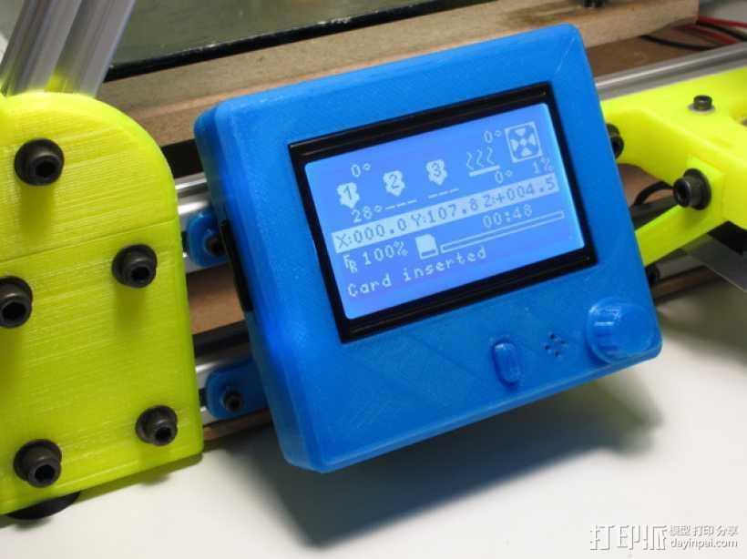 智能控制器安装套件 3D打印模型渲染图