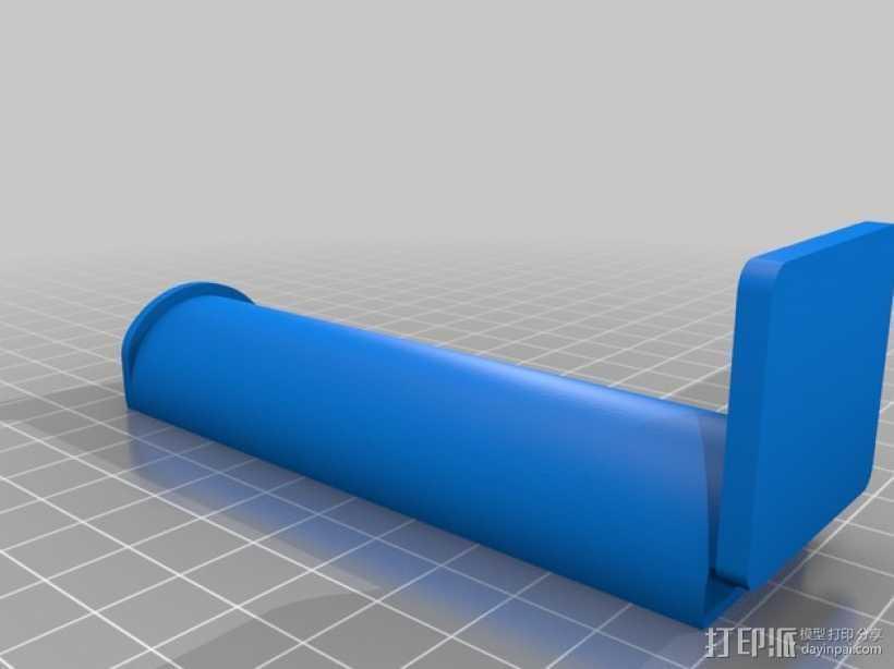 简易的线轴支撑架 3D打印模型渲染图