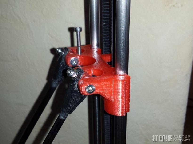 轴承套管 3D打印模型渲染图
