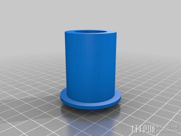 Leapfrog Creatr打印机的线轴架 3D打印模型渲染图