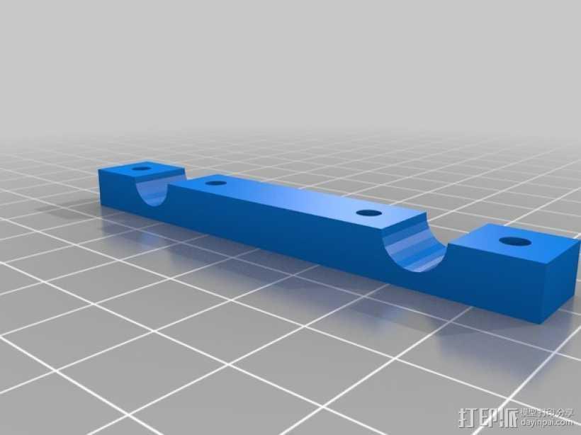 轴杆夹  3D打印模型渲染图