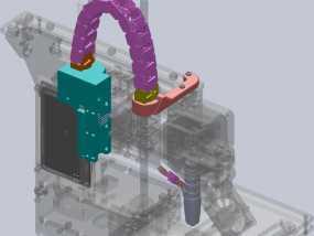 Printrbot Simple打印机的电缆收纳器