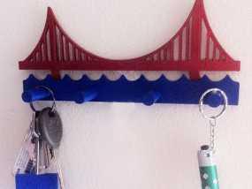金门大桥钥匙架