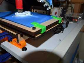 Printrbot Simple打印机的玻璃板夹