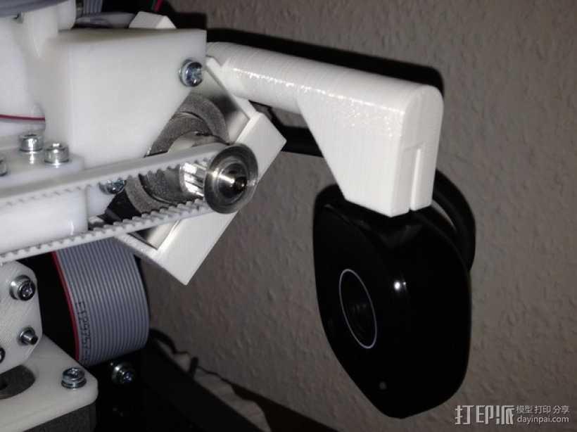 摄像头的安装支架 3D打印模型渲染图