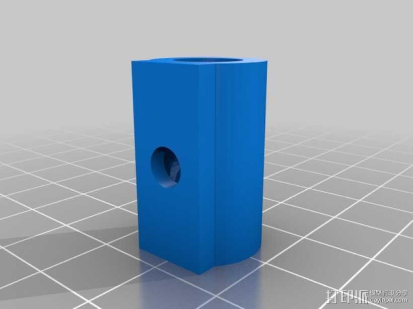 工具存放桶 3D打印模型渲染图