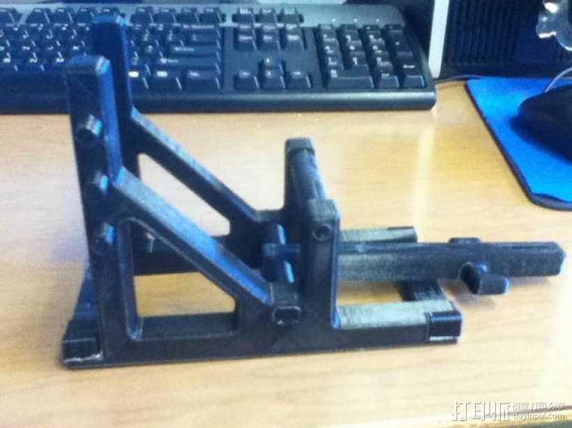 石弩 弹弓 3D打印模型渲染图