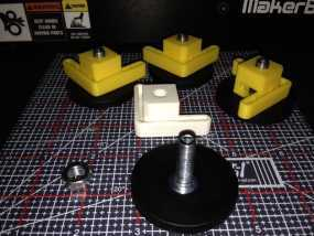 Makerbot Replicator 2/ 2X 打印机的底垫