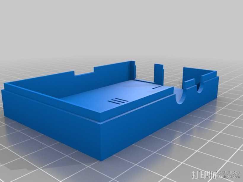 Raspberry Pi树莓派保护框 3D打印模型渲染图