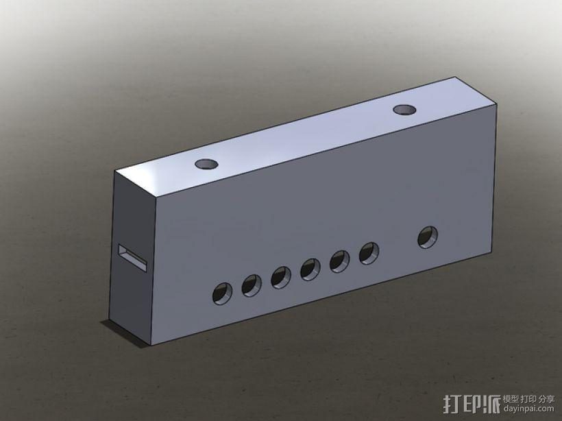 12V 30A电源罩 3D打印模型渲染图