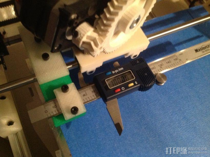 卡规/测径器支架 3D打印模型渲染图