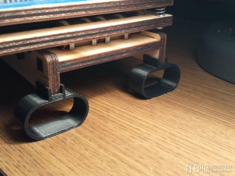 Printrbot Simple打印机的防震器 3D打印模型渲染图