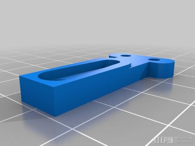 伺服器 3D打印模型渲染图