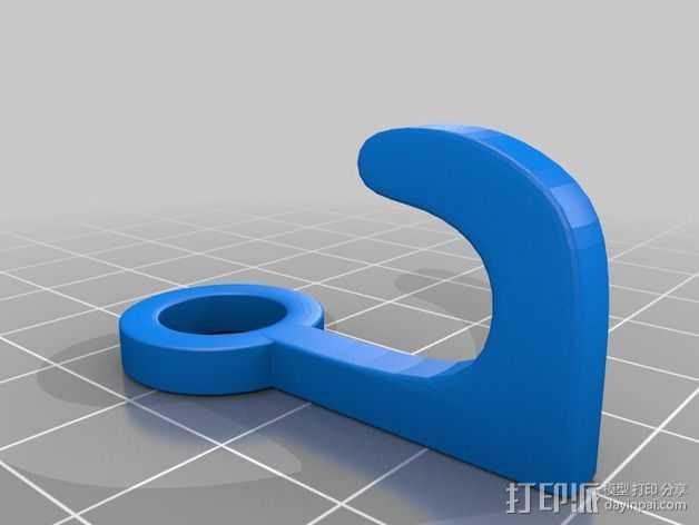衔接器 3D打印模型渲染图