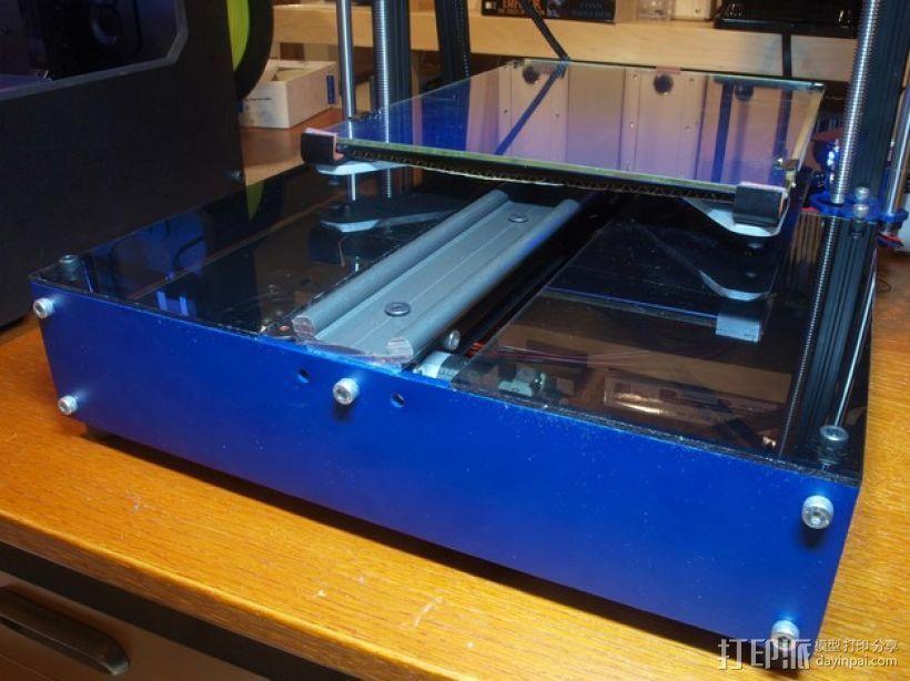 面板 3D打印模型渲染图