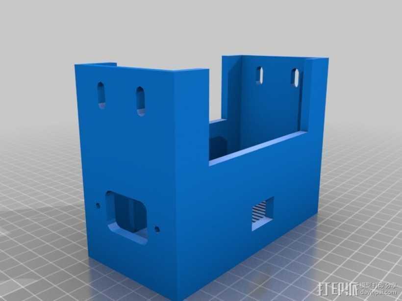 Prusa i3替换电源 3D打印模型渲染图