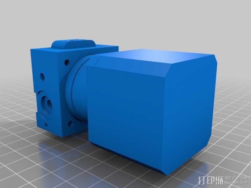 挤出机模型 3D打印模型渲染图