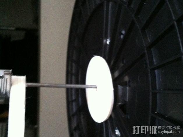 灯丝适配器 3D打印模型渲染图