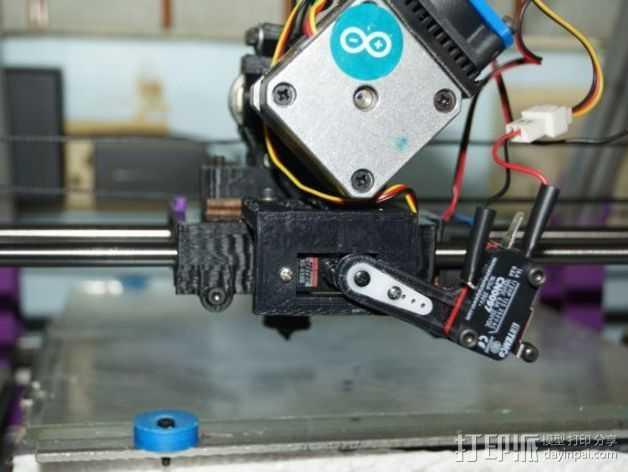 水平校准 3D打印模型渲染图